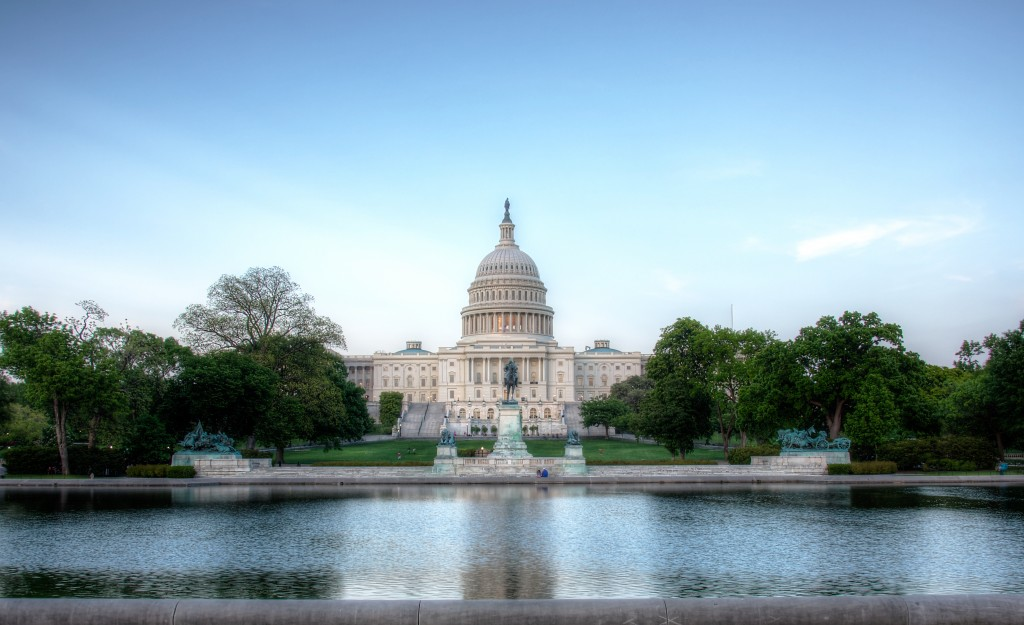 US Capitol with HDR enhanced